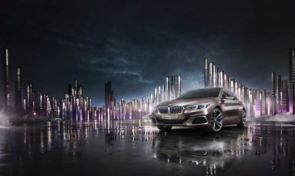 2015, Transportation, China, BMW, BMW Concept Sedan, night, purple, Anke Luckmann, Julia Obermeier, Jenny Cremer, Kai Tietz