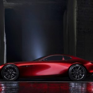 Mazda RX-VISION side view
