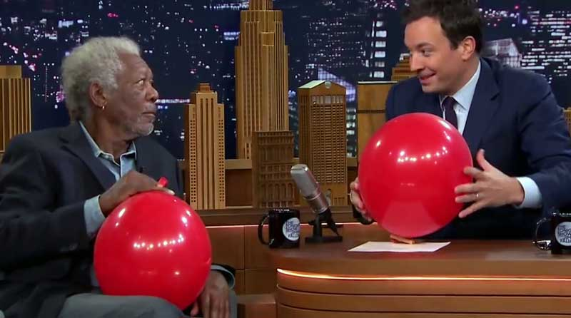 Morgan Freeman și Jimmy