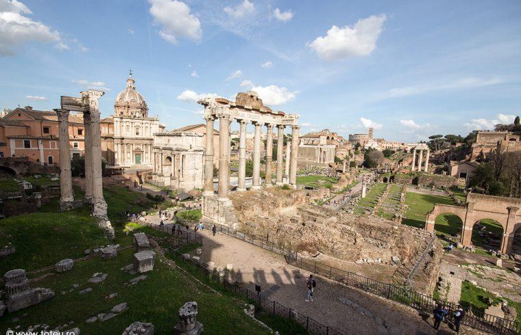 Vacanță la Roma. Foro Romano